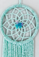 Load image into Gallery viewer, Mint Unicorn Dreamcatcher