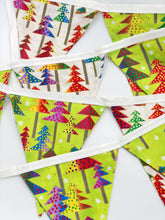 Load image into Gallery viewer, Handmade Christmas Bunting style 4