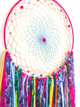 Load image into Gallery viewer, Rainbow Dreamcatcher