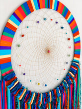 Load image into Gallery viewer, Giant Rainbow Dreamcatcher