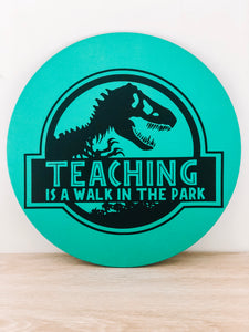 Teacher Wall Plaque