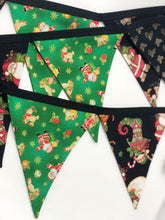 Load image into Gallery viewer, Handmade Christmas Bunting style 3