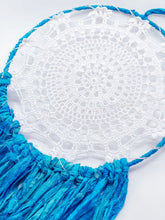 Load image into Gallery viewer, Light up Recycled Sari Silk Yarn Dreamcatcher