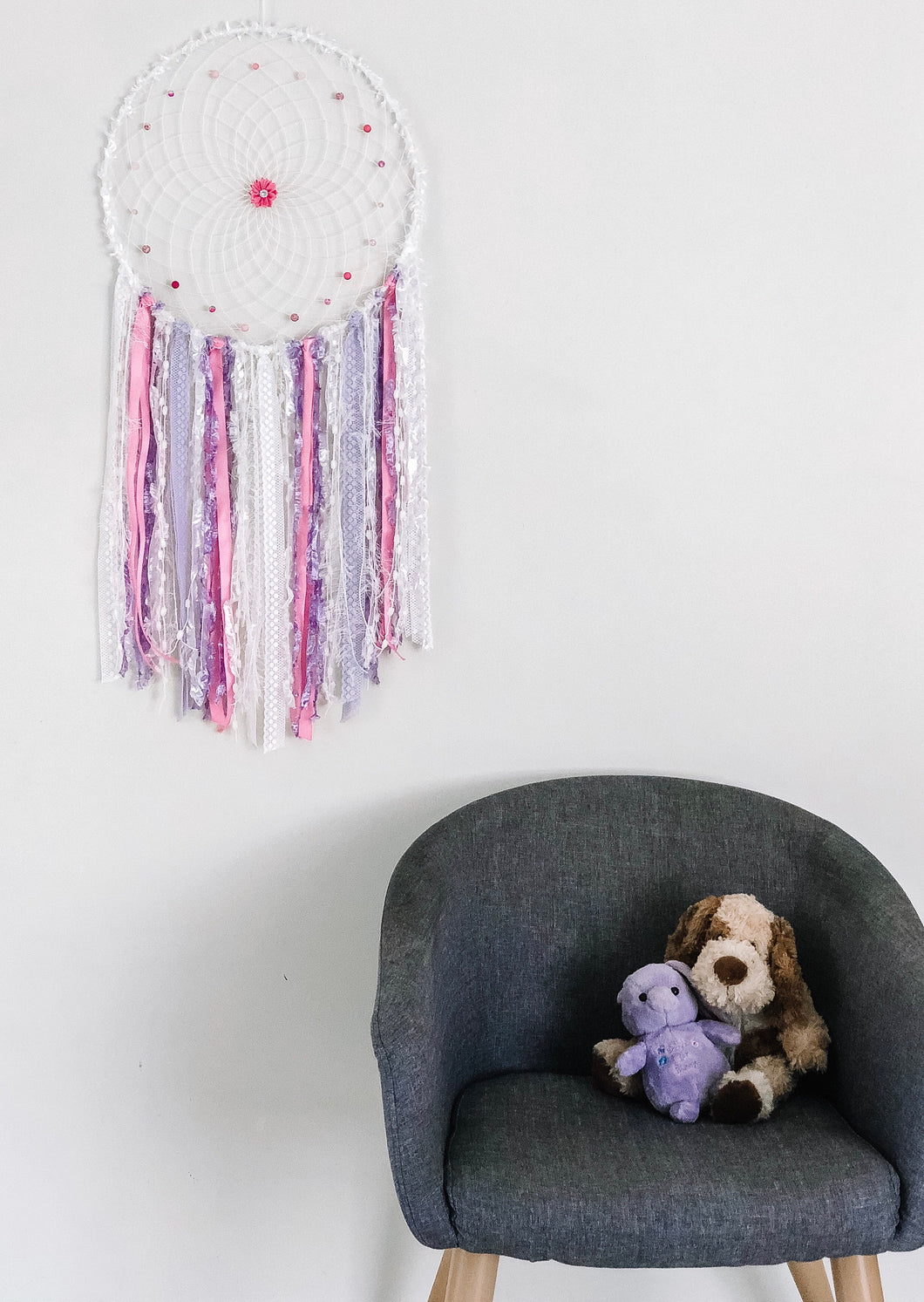 Pink and purple Dreamcatcher