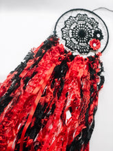 Load image into Gallery viewer, Black and Red Dreamcatcher