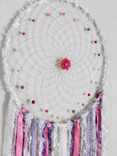 Load image into Gallery viewer, Pink and purple Dreamcatcher