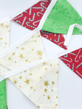 Load image into Gallery viewer, Handmade Christmas Bunting style 1