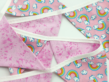 Load image into Gallery viewer, Pink Rainbow Bunting