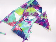Load image into Gallery viewer, Handmade TIE DYE Bunting