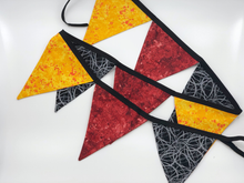 Load image into Gallery viewer, Boys black, red and yellow Bunting