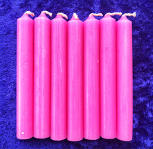 Pink Spell Candles