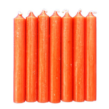 Orange spell candles