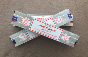 Nag Champa White Sage 15gr- ***3 Incense packages***