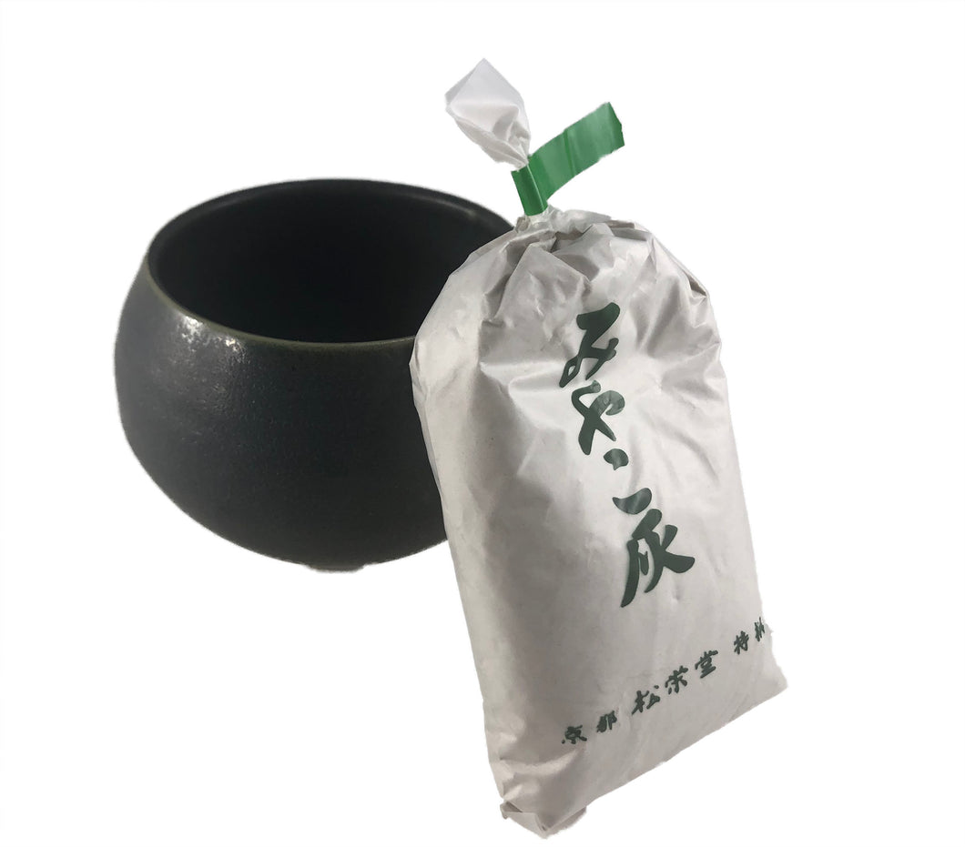 Japanese Ceramic Incense Burner with white sand filling
