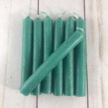 Green spell candles