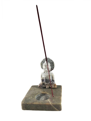 Stone Buddha Incense holder