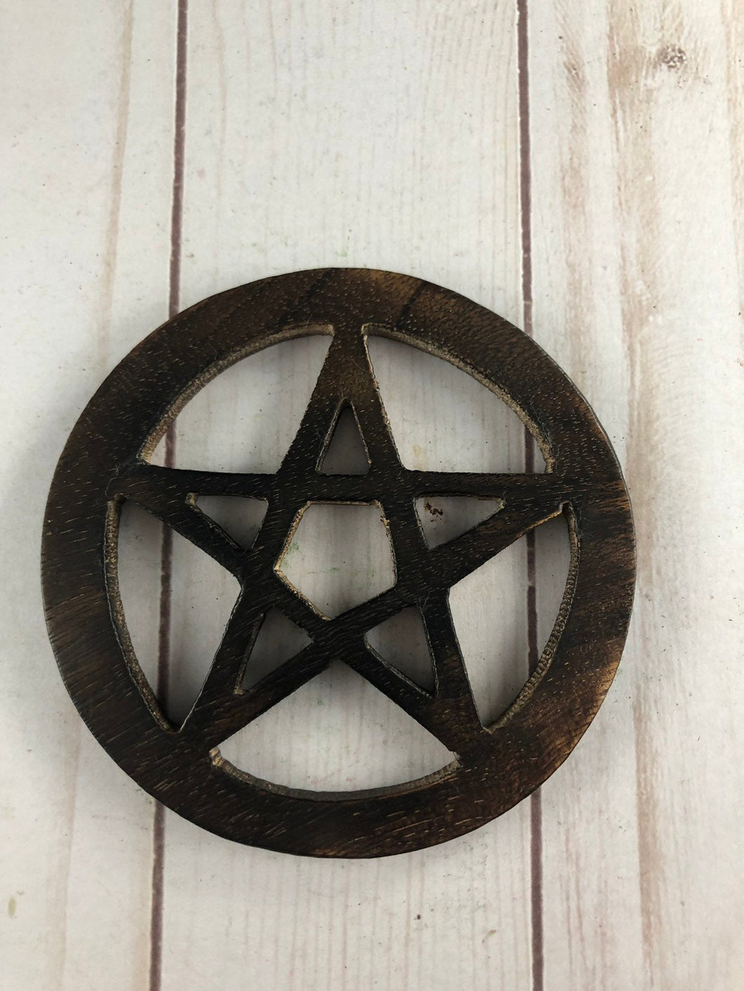 Wooden Pentagram Tile 4