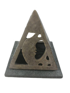 Pyramid Cone Incense Holder