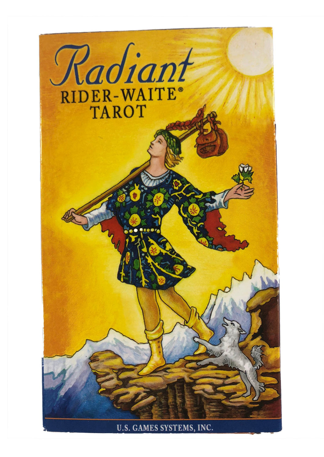 Radiant Rider-Waite Tarot- 78 cards