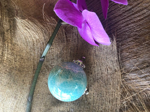 Amazonite Sphere with stand