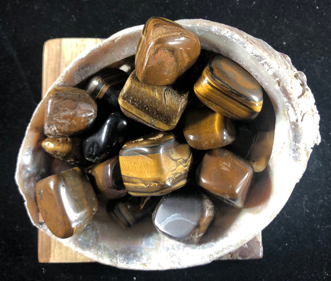 Tiger's Eye Tumbled stone