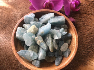 Blue Aquamarine Stone