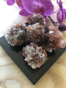 Aragonite Star Clusters- Energy