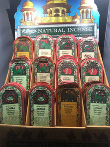 Zodiac Incense Sticks