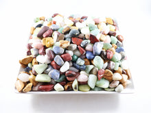One pound Mixed tumbled stones