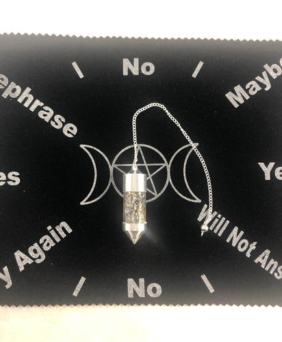 Herbal Pendulum Charged with Intention