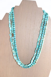 Bohemian Turquoise Necklace