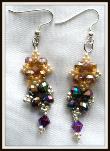 Swarovskis earrings