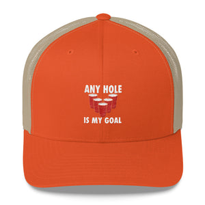 Any Hole is my Goal Trucker Cap - Country America