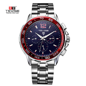 60c1279923c Tevise Brand Men Automatic Mechanical Watch Man Fashion Waterproof  Wristwatch Male Clock Relogio Masculino Montre Homme ...