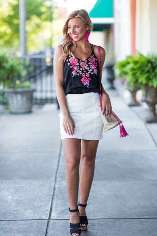 Sleek and Sweet Skirt