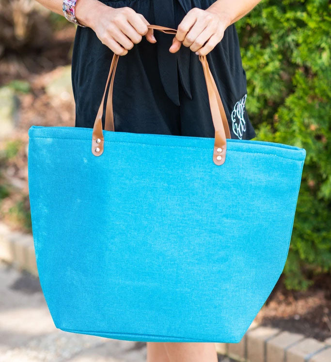 all that you need tote aqua