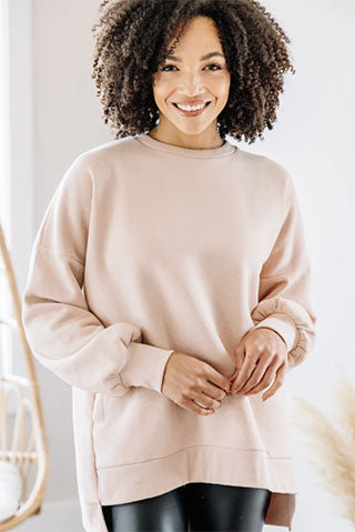 full time comfort pullover