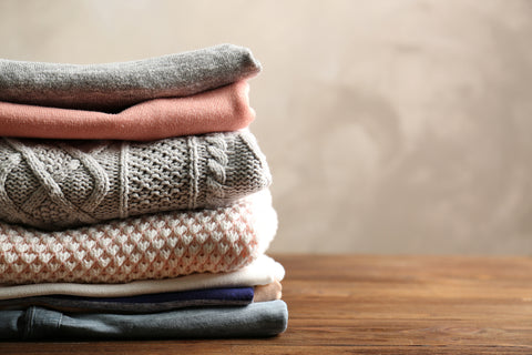 how to wash acrylic rayon sweaters
