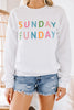 colorful fun graphic sweatshirt
