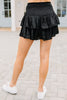 smocked ruffled skort