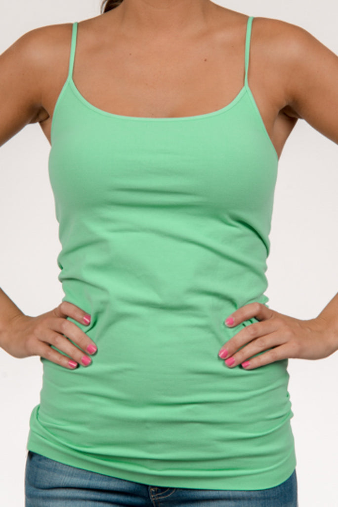 Conceal'n Cockatoo Green Cami