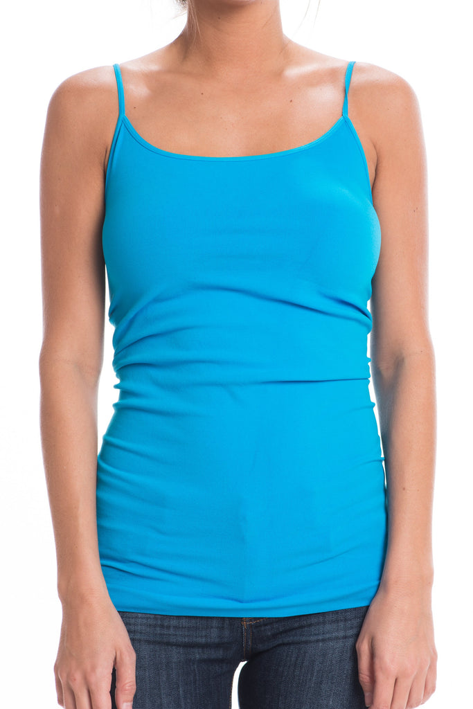 Conceal'n Turquoise Blue Cami