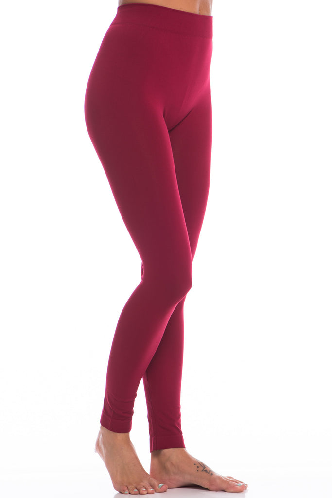 Lovable Red Long Leggings