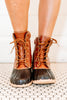 brown boots, duck boots, boots, casual, brown
