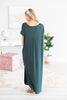 Trust The Plan Maxi Dress, Hunter Green