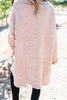 Just Can't Compare Blush Pink Chenille Cardigan