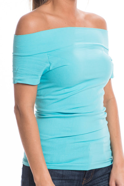 On or Off Cami, Crystal Blue