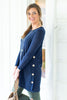 By Your Side Tunic, Navy