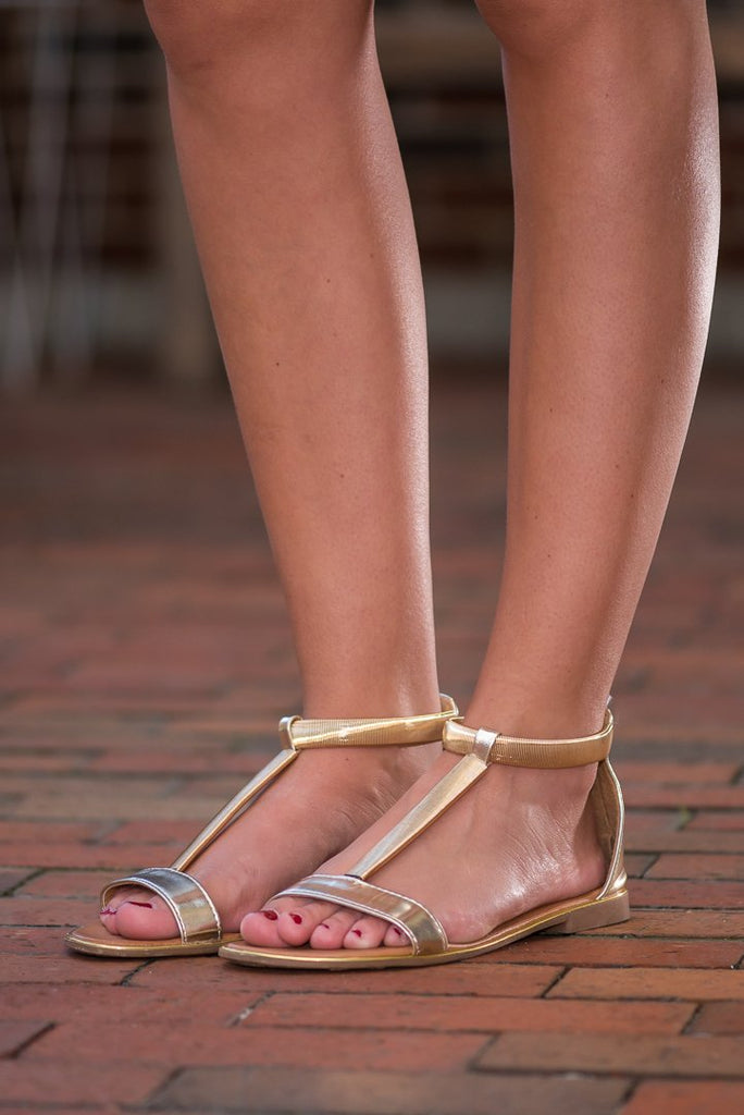 The Paola Sandals, Gold