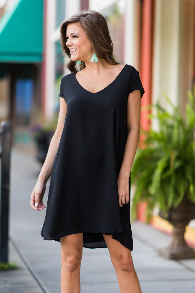 High Recommendations Dress, Black